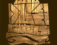 DUB MANNERS -BLACKBOARD BASS [Cover Artwork]