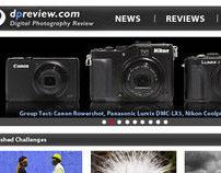 redesign dpReview.com
