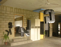 3D LETTERS KERNING TYPOGRAPHY PROJECT