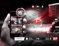 DFL On Air Design / Bundesliga Screendesign