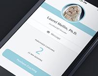 Emotional Brain Training - iPhone UI