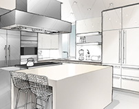 Subzero/Wolf 'Kitchen Helpings' Website