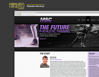 MSC Sports Performance Website