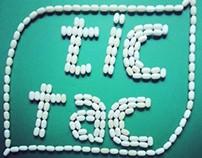 Tic Tac Art - using tic tac in various artistic ways