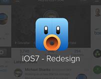 Tweetbot - iOS7 Redesign
