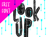 Look Up - Free Font