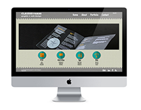 My web site  [Web interface design]