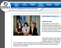 Preble Medical Services Website