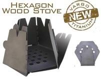 Vargo Outdoors Titanium Hexagon Wood Stove