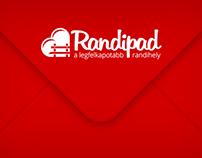 Randipad Logo Design & Envelope
