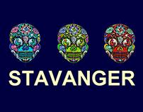 """Howl"" Sugar-Skull Piece - Stavanger"