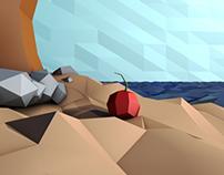 Altoral Motion   3D Desert Island