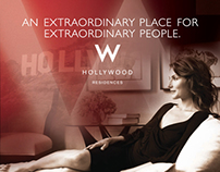 Luxury Ads & Web WHollywood Residences