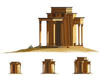 Trojan War Building Art