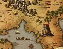 Trojan War Map
