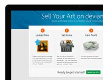 deviantART's Sales Page