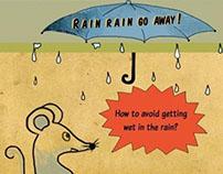 Rain rain GO A WAY!