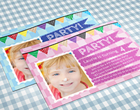 Birthday Party Invitation - 02