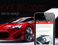Scionlife.com Mobile Site