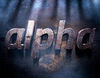 alpha typo
