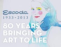 Escoda: 80 years bringing art to life.