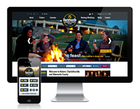 Charlottesville Albemarle County CVB Web & Mobile Sites