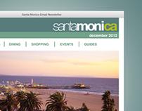 Santa Monica Email Newsletter Template