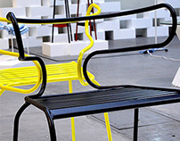 TORRO chair in metal only
