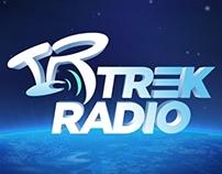 Trek Radio logo and website design