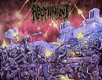 """Abominant's """"Onward To Annihilation"""" Cover Art"""