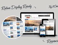 Legatus – Responsive News/Magazine Template