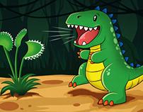 Panasonic Smart Viera Dinosaur