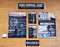 HOBO Survival Guide Exhibit