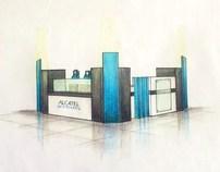 ALCATEL one touch Kiosk design
