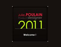Julie POULAIN PORTFOLIO 2011