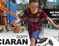Dublin Ireland - Street Soccer Freestyler