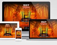 Website - Vuly Trampolines - Thunder microsite