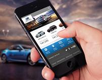 Subaru Mobile Web App