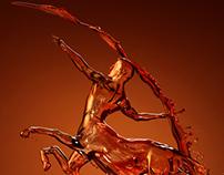 mancrafts_ wine sculpture