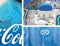 Coca-Cola refresh the summer Greek