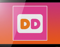 Dunkin Donuts - Digital Menu, Mobile App & Kiosk Design