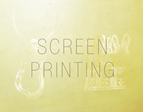 -Screen Printing- tote bag design