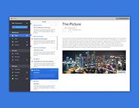 Email widget Concept