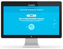 Questis Portfolio Temporary Website
