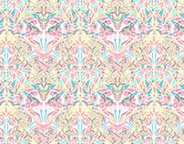 Wallpaper pattern design 16 Edouard Artus ©2012