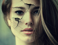 Cracked girl