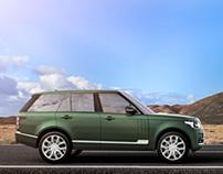 Range Rover in Fuerteventura - CGI