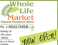 Whole Life Market, Natural Product Store