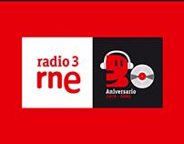 30 Aniversari RNE Radio 3.