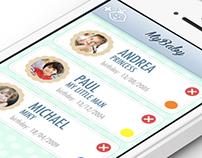 MyBaby - iOS UI and Development